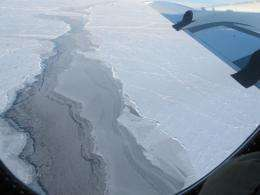 Arctic sea ice flights near completion