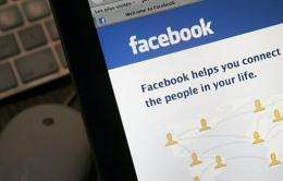 """A """"Send"""" button lets people share website links with selected cadres instead of all Facebook friends"""