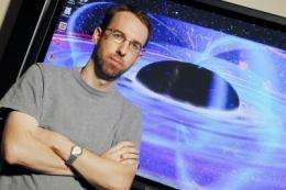 Astrophysicists use X-ray fingerprints to study eating habits of giant black holes