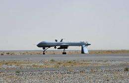 A US Predator unmanned drone