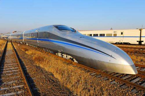 China tests 500 kilometers per hour train