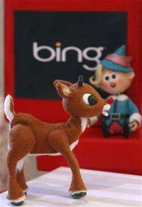Bing hitches holiday hopes to Rudolph the reindeer (AP)