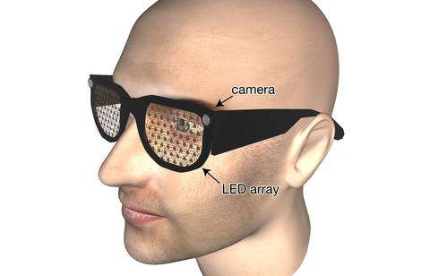 Bionic glasses for poor vision