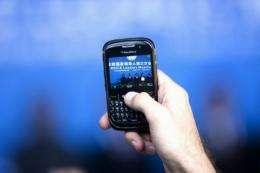 BlackBerry maker Research In Motion announced it has purchased Scoreloop