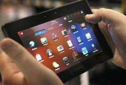 Blackberry's PlayBook electronic tablet has been approved for use in all US federal government agencies