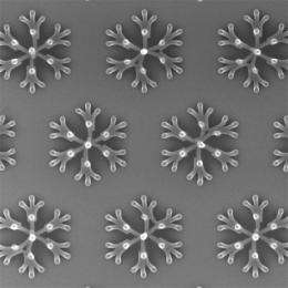 Building chips from collapsing nanopillars