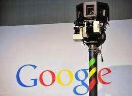 Camera of a Google street-view car