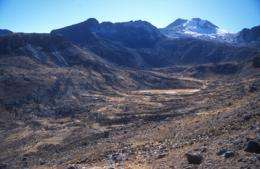 Causes of melting tropical glaciers identified