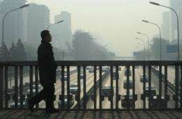 China currently rates air quality by measuring airborne particulates of 10 micrometres or less