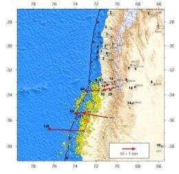 GPS data reveals more on mega-thrust earthquakes