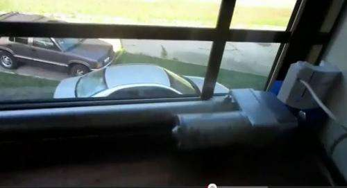 Do it yourself guy builds train detector to automatically shut bedroom window