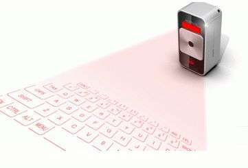 evoMouse and Magic Cube: New mouse and projector keyboard devices (w/ Video)