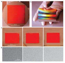 Research team develops method to produce large sheets of metamaterials