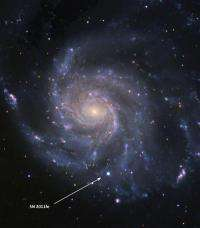 Closest Type Ia supernova in decades solves a cosmic mystery
