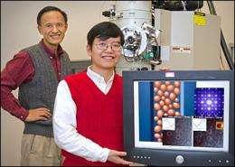 Colossal magnetoresistance phenomenon occurs when nanoclusters form at specific temperatures