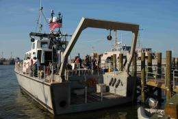 Cruising the Chesapeake for water and air quality