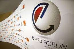 """Cyber-attacks disrupted the """"e-G8"""" summit's wireless connection"""