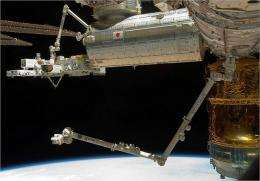 Data streaming in from Space Station to OSU lab