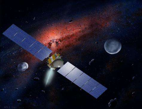 Dawn probe reaches milestone approaching asteroid Vesta