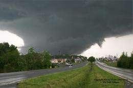 Detailed study of U.S. southeast tornadoes