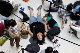 Die-hard fans in China have been known to line up for days to get their hands on the latest Apple products