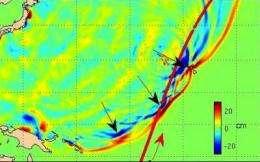 'Double tsunami' doubled Japan destruction
