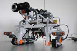 Driving a robot from Space Station