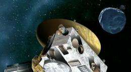 Dwarf planet mysteries beckon to New Horizons