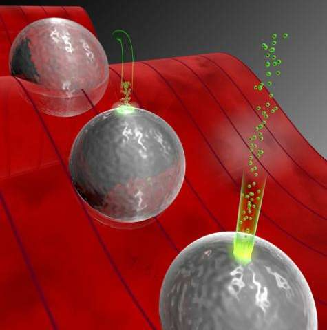 Electron ping pong in the nano-world