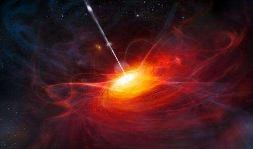 Most distant quasar found