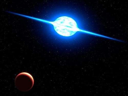 Fastest Rotating Star Found in Neighboring Galaxy