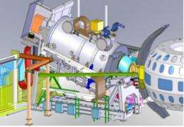 Feeling the heat: 30 tons of fine control for fusion plasmas