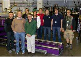 Fifth x-ray instrument at LCLS debuts, with a bead on disorderly structures