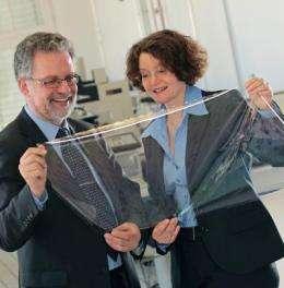 Flexible films for photovoltaics