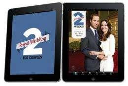 Flood of royal wedding smartphone apps hits market (AP)