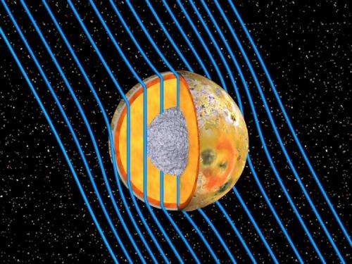 Galileo spacecraft reveals magma 'ocean' beneath surface of Jupiter's moon Io