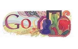 Google dedicated its logo to the 100th anniversary of International Women's Day Tuesday