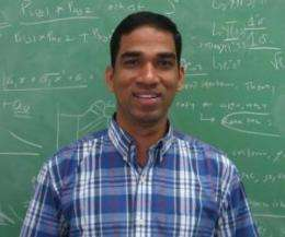 Graduate's physics thesis published in Physical Review