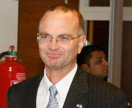 Gregory Schulte a senior US official in charge of space defense