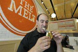 Grilled cheese with a tech twist in San Francisco (AP)