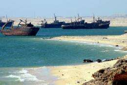 High levels of toxic compounds found on coasts of West Africa