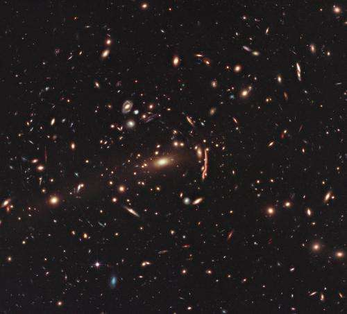 Hubble survey carries out a dark matter census