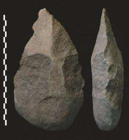 Humans shaped stone axes 1.8 million years ago, study says