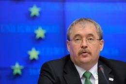 Hungarian Minister of Agriculture Rural Development Sandor Fazekas