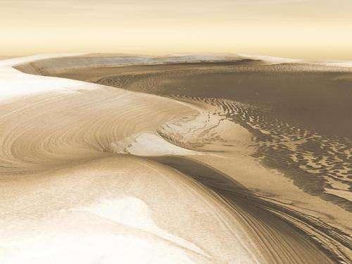 Image: Chasma Boreale, Mars