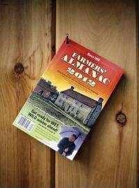In Farmers' Almanac, folksy meets the future (AP)