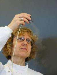 Inhaler treatment for lung cancer