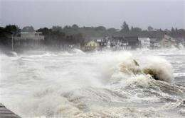 Irene forecasts on track; not up to speed on wind (AP)