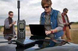 Iridium launches Wi-Fi hotspot for extreme roaming (AP)