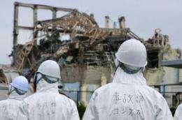Japanese investigators visit the Fukushima nuclear power plant